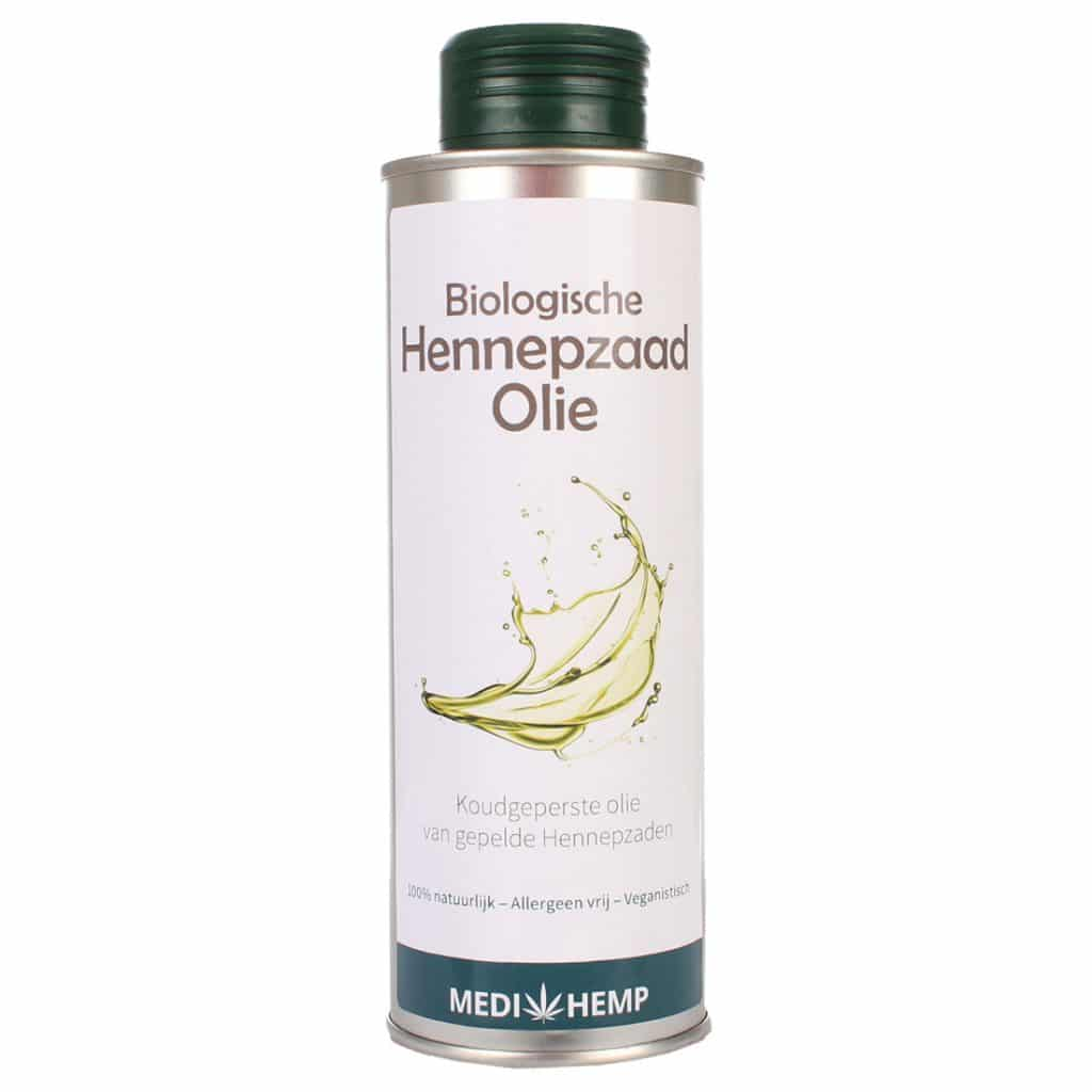 Product image of Medihemp organic hemp seed oil from shelled hemp seeds (250ml)