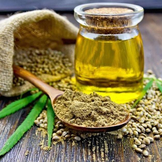 olie gemaakt van de cannabis plant